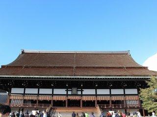 紫宸殿正面全景