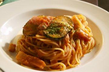 <p>Delicious Pasta Arrabiata!&nbsp;</p>