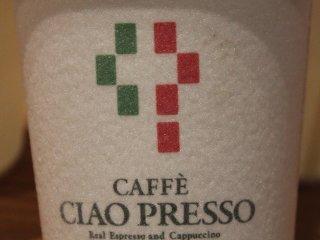 注文したのはカフェラテ。美味しかった