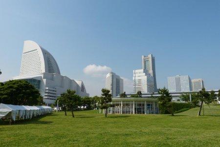 Công viên Rinko ở Yokohama
