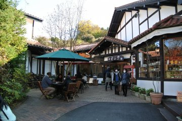 <p>I had lunch at this restaurant called &quot;Kokoro&quot; which means &quot;Heart&quot;. They have an English menu and nice pottery shop too</p>