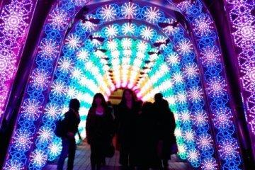 Iluminasi di Tokyo Dome City