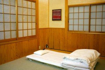 <p>The comfortable bedroom</p>