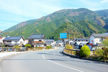 <p>The small town of Yusuhara is also very friendly and welcoming</p>