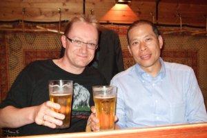Matt et moi chez Ayamuya