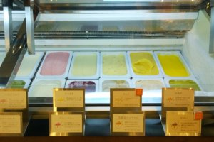 ไอศกรีมเจลลาโต้หลากรสของGELATERIA HANANOKI ที่น่าลองทุกรสเลยล่ะ