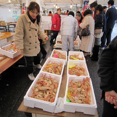福井の冬の味覚、越前蟹