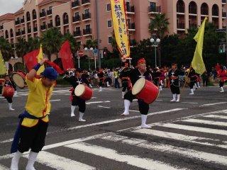 Танцы с барабанами