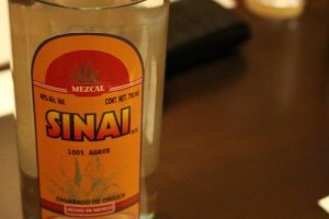 Mezcal with a distinct, smoky flavor