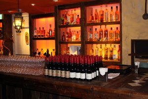 Several Mexican wines available