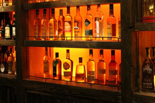 Over 200 varieties of mezcal served