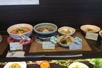 <p>A sample of the foods which are provided by the Canteen. Looks delicious right?</p>