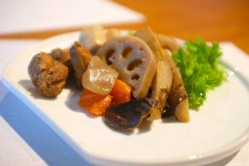 Hidangan halal di Kappou Yama