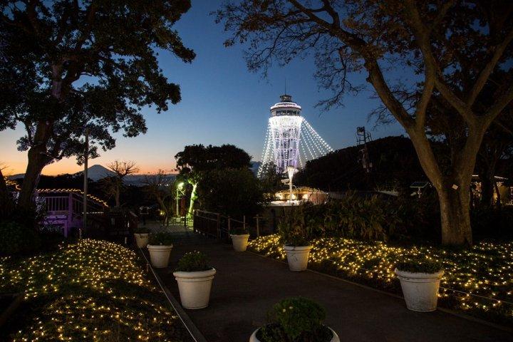 Illuminations de Noël à Enoshima