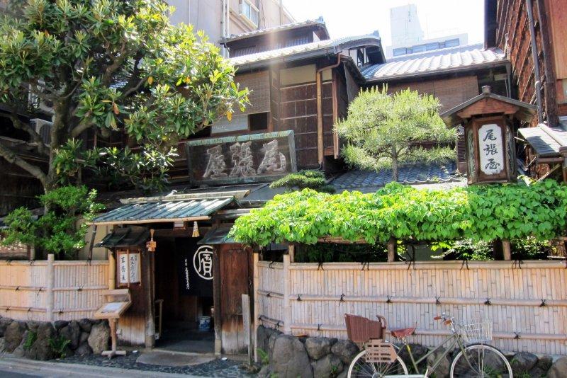 Honke Owariya is a Kyoto institution