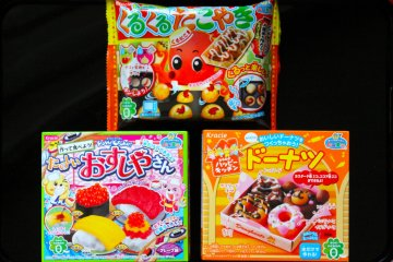 Popin' Cookin Candy Kits by Kracie
