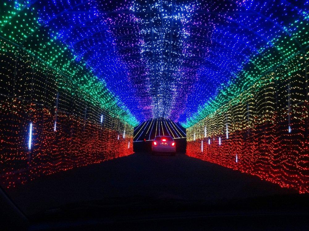 무지개 빛 터널