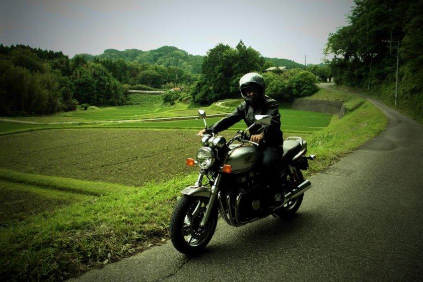 Enjoying the ride
