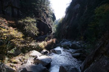 <p>Shosenkyo Gorge is an amazing sight</p>