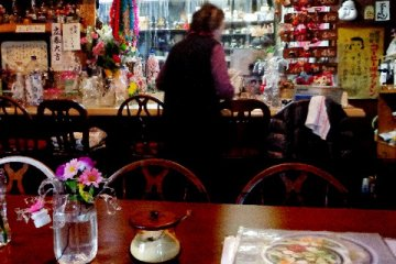 <p>Interior of Aroma restaurant</p>