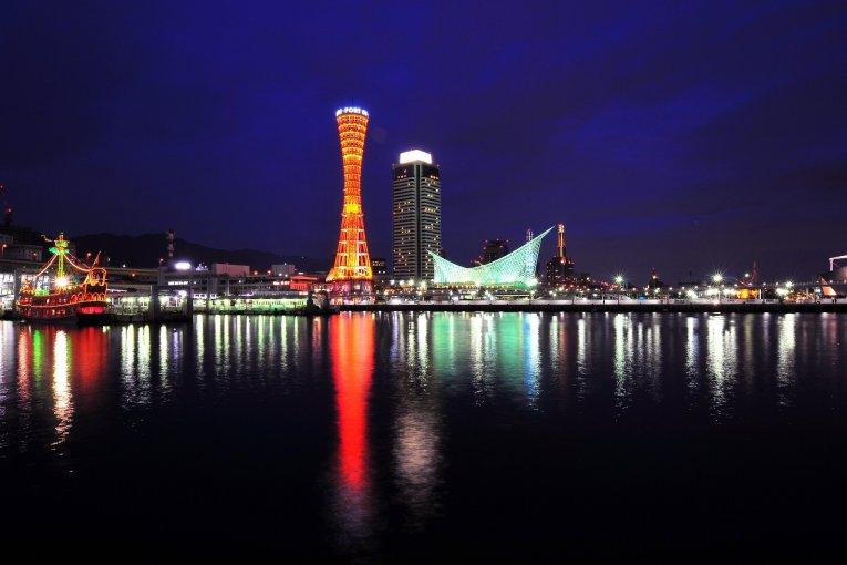 แสงสีในเมืองท่าเรือแห่งโกเบ