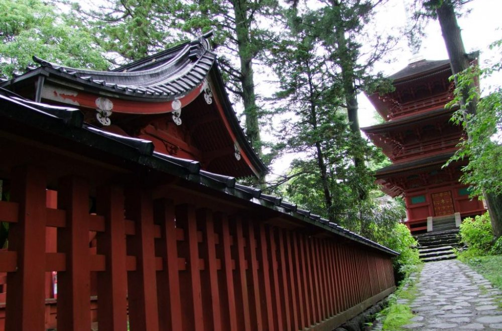This shrine was the very first one built in this complex of shrines