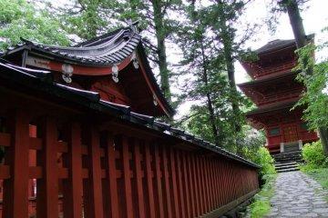Outside Nikko's Tosho-gu Shrine