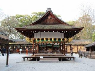 河合神社・拝殿