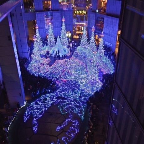 Tokyo's Shiodome Illumination