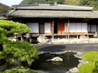 The former home of the Shimazu family in Sengan-en