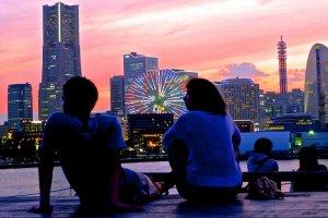 The beautiful Minato Mirai skyline