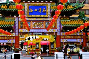 Colorful Chinatown