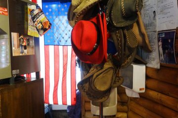 <p>The Western theme is prevalent throughout the eatery</p>