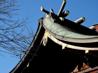 Hình mái nổi bật này có từ trước Đạo Phật ở Nhật