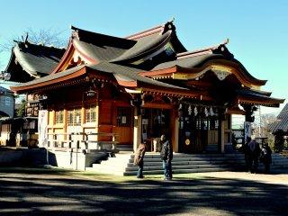 Nhà thờ chính của đền Sugawara