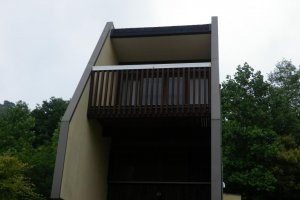 the bungalow at Utsukushi Mori, Setouchi City, Okayama