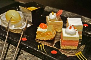 The StellarGarden Dessert Plate was a delicious assortment and perfect for sharing