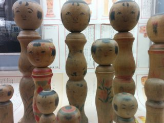 Kokeshi wooden dolls are a signature craft of the Tohoku region
