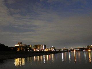 Night view of Gifu