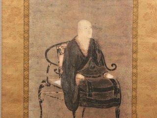 永平寺に伝わる道元の最も古い肖像画。作者不詳。室町時代