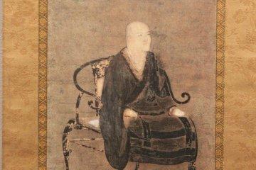 에이헤이지에 전해지는 도겐의 가장 오래된 초상화. 작자미상. 무로마치시대