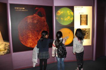 Exhibition about space
