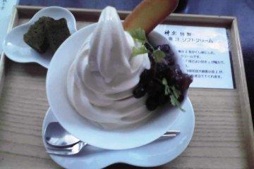 Kansou Seaweed Ice Cream