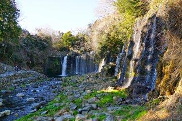 <p>Shiraito Falls in the wintertime</p>