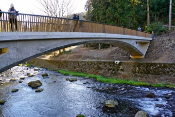 <p>Takimi Bridge offers a great vantage point for photographs or just soaking up the beauty of Shiraito.</p>
