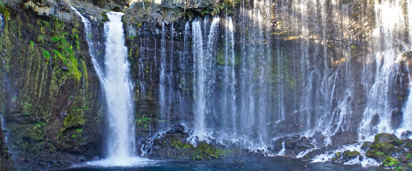 Shiraito Waterfall (Fujinomiya, Shizuoka, Japan)