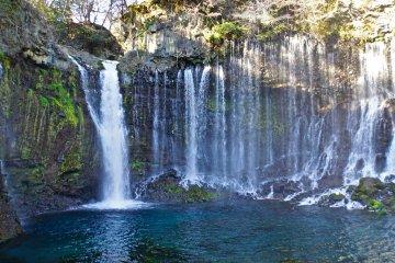 Shiraito & Otodome Falls Fujinomiya
