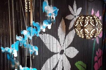 <p>More of the colourful decor</p>