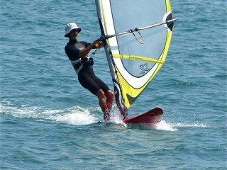 A mecca for windsurfing along Route 134's Shonan Coast
