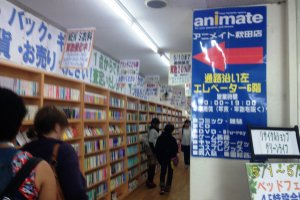 Thousands of books and DVDs at Animate